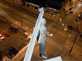 David Černý - Viselec - Grand Rapids, Michigan, USA (5. prosince 2007)