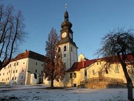 Zámek ve Žďáře nad Sázavou, nynější domov Constantina Kinského.
