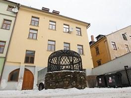 Dům v jihlavské Havířské ulici. Se dvěma jednadvacetiletými mladíky obývajícími