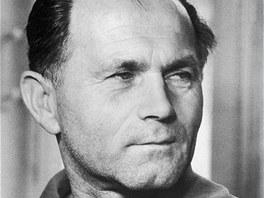 Bohumil Hrabal na snímku neznámého autora (1959)