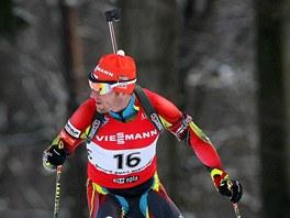 Michal Šlesingr během mistrovství republiky v Jablonci