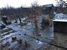 V zahrádkářské kolonii praskl vodovodní řad, bez vody zůstalo třicet tisíc lidí