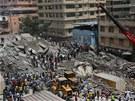 Neštěstí se stalo uprostřed obytné čtvrti, kde jsou i četné kanceláře.
