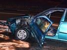 Tragická nehoda na silnici I/58 ve Staré Vsi nad Ondřejnicí