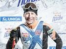Lukáš Bauer jako závodník na Red Bull Nordix.