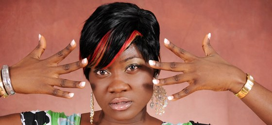 Znáte ji? Nigerijská filmová hvězda - takzvaná Nollywood star - herečka Mercy