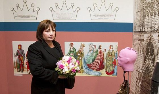Manželka prezidenta Ivana Zemanová navštívila v Bratislavě galerii (5. dubna