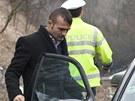 Ve středu policie žebrající Rumuny pokutovala u Paškapole mezi Velemínem a
