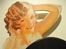 S Elida Girl se mohou seznámit návštěvníci právě zahájené výstavy v ústeckém