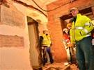 P�i rekonstrukci budovy b�val�ho sirot�ince v are�lu Filozofick� fakulty