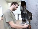 Student Fakulty výtvarných umění brněnského Vysokého učení technického Adam