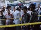 V noci na úterý zemřelo při požáru islámské náboženské školy v bývalém hlavním