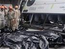Agentura AP uvedla, že při nehodě zemřelo sedm lidí.