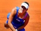 Tenistka Barbora Záhlavová - Strýcová při turnaji ECM Prague Open (16. července