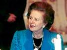 Margaret Thatcherová při návštěvě České republiky (23. května 2002)
