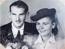 Manželé Citterbergovi po válce.