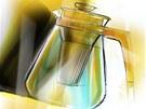Návrh oceněné čajové konvice