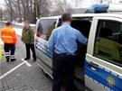 N�me�t� policist� p�ivezli psychicky nemocn�ho pacienta, pot� se o n�j