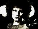 Z výstavy Popmusea Tvrdá hudba v těžké době (Petra Janů na začátku 80. let)