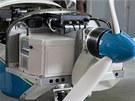 Letadlo kunovického Evektoru je poháněno nově vyvinutým elektrickým motorem o