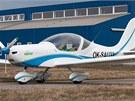 SportStar Epos je sportovní dvoumístné letadlo, které má díky elektropohonu