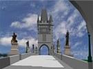 Vizualizace: tak by měl vypadat čínský Karlův most.