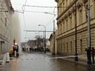 havárie vodovodu na pražském Albertově, 9. dubna 2013