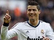 ZASE JSEM NA NĚ VYZRÁL. S potutelným výrazem slaví Cristiano Ronaldo z