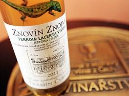 Vinařství Znovín Znojmo získal titul Vinařství roku.