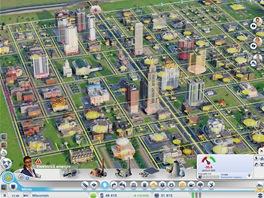 Starosto, máme problém. Část města je bez proudu (červeně vyznačená oblast).