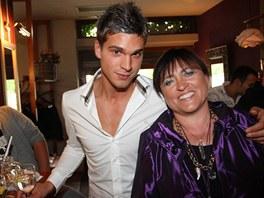 Jakub Malina s maminkou Květou (2010)