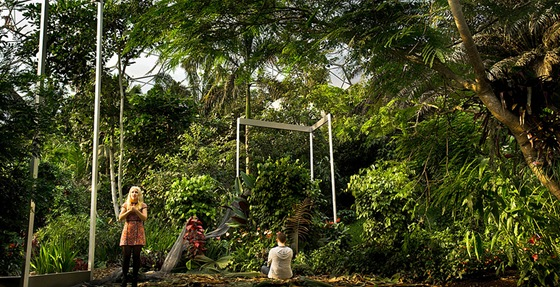 Kate Miller-Heidke a Jonathan McGovern ve 3D opeře Sunken Garden (Potopená