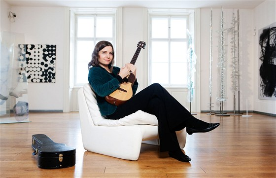 Zpěvačka a skladatelka Marta Töpferová