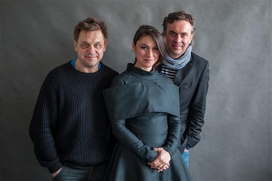 Václav Bartoš (Fru Fru), Lenka Dusilová a Tomáš Matonoha