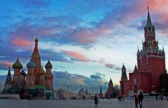 Chrám Vasila Blaženého v Moskvě. Ilustrační snímek