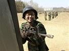 Jihokorejská mládež si hraje na válku. (9. dubna 2013)