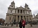 Katedrála sv. Pavla v Londýně (9. dubna 2013)
