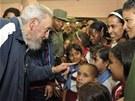 Fidel Castro se v Havaně zúčastnil slavnostního otevření nové školy a