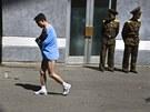 Mezinárodní maraton v Pchjongjangu při příležitosti 101. výročí narození