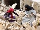 Následky zemětřesení, které postihlo jih Íránu 10. dubna