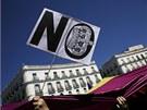 V�ce ne� osm tis�c lid� v ned�li v Madridu demonstrovalo proti monarchii a