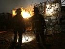 Texaským městem West otřásl ve středu v noci silný výbuch v místní továrně na