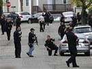 Policejní manévry v Bostonu (19. dubna 2012)