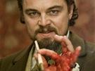 Leonardo Di Caprio ve filmu Nespoutaný Django