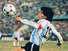 Tváří sportovní značky Puma byl i Diego Maradona. (1986)