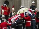 Poslední rozloučení s bývalou britskou premiérkou Margaret Thatcherovou. (17....