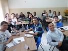 Účastníci kurzu češtiny v brazilském Sao Paulu