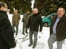 Poslanci ze zemědělského výboru vyrazili na Tříjezerní slať.