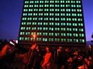 Při Light Show oživila 110 oken koleje K3 v areálu českobudějovického kampusu