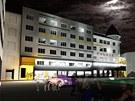 Vizualizace budouc� podoby Hotelu Palace v centru Ostravy coby studentsk�ho kampusu.